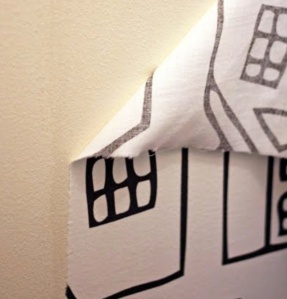fabric wallpaper